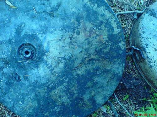 Battlefield relics from Poland