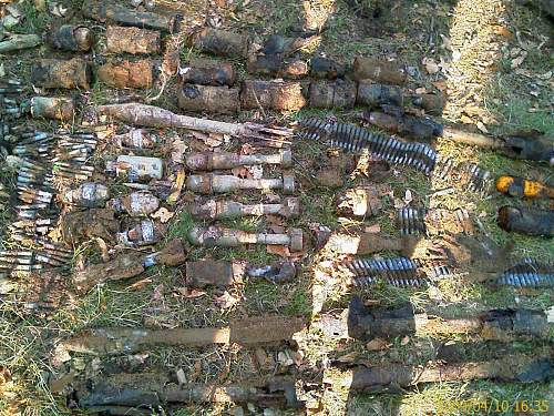Well preserved American ordnance found in the Czech Republic