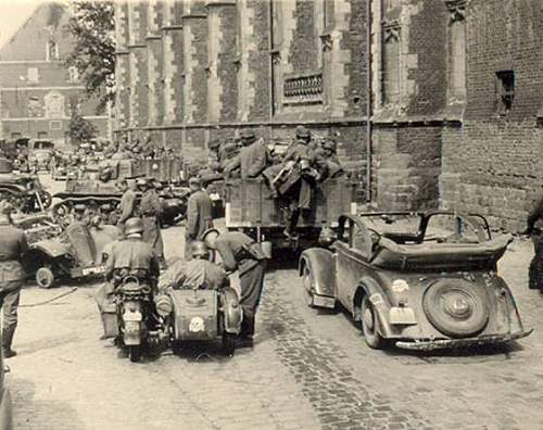 Zundapp KS750 Dug Up after 60 years in Normandy
