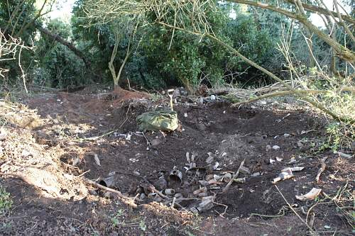RRPG dig - New RAF base dump