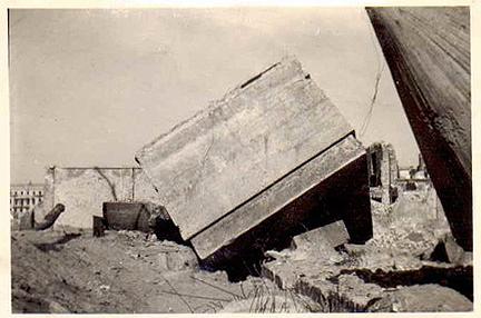 """Reichs Chancellery and Fuhrer Bunker - """"Spiegel Online"""" Forbidden Photos: Secret Shots of Hitler's Bunker"""