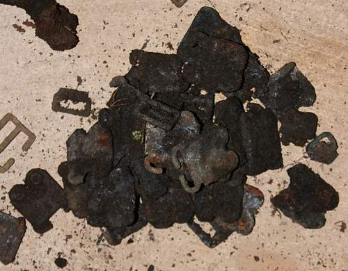 British army dump dig - Second dig of 2014