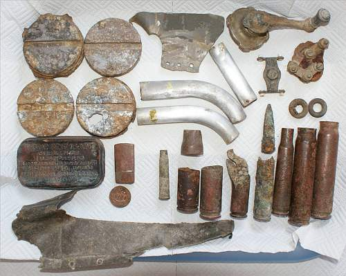 WW2 Airbase - Some cracking finds !