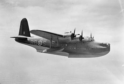 Short Sunderland flying boat recovery