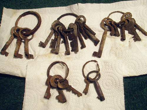 What are these Keys??? from Volgograd Digging