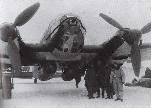 Click image for larger version.  Name:He 111H-4_ on a snow covered Pitomnik airfield_ Russia_ January 1943_ Over 165 Heinkels were los.jpg Views:4 Size:32.7 KB ID:642965
