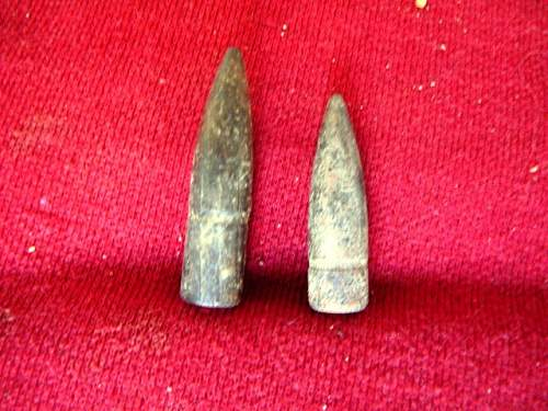 Click image for larger version.  Name:Fossick #107 bullet heads (Small).JPG Views:1 Size:116.4 KB ID:652661