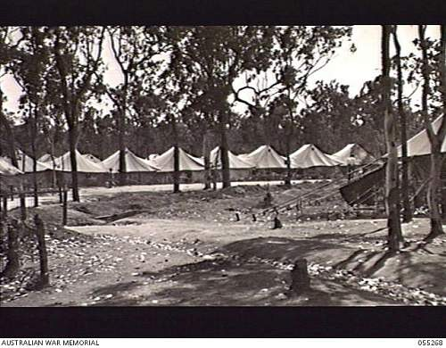 Click image for larger version.  Name:ROCKY CREEK, QLD 1943-08-09-10. GENERAL VIEW OF 2 2ND AUSTRALIAN GENERAL HOSPITAL. 2.jpg Views:1 Size:247.1 KB ID:664112