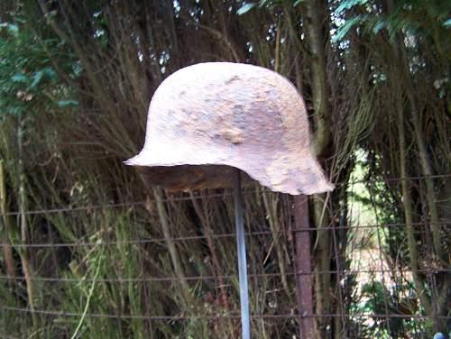I would love a genuine stalingrad recovered german helmet!