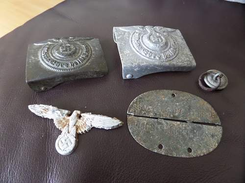 SS items found in Lapland