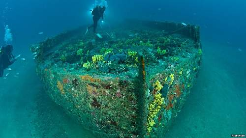 Greater protection for ships lost in World War One