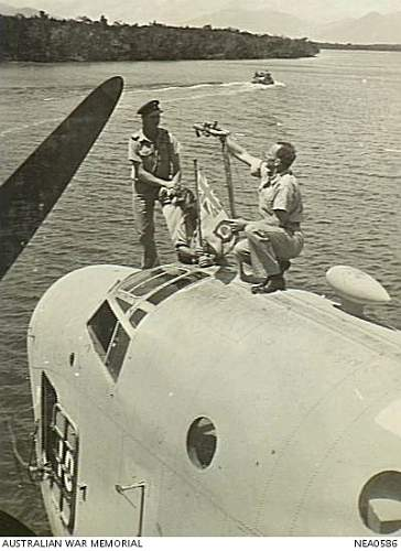 Click image for larger version.  Name:Cairns Qld 1944 09 28. Departure preparations on Martin PBM Mariner flying boat of No 41 Transpo.jpg Views:0 Size:83.6 KB ID:710081