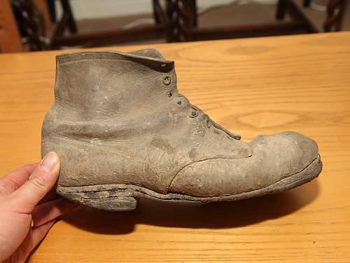 WW1 Relic Boot