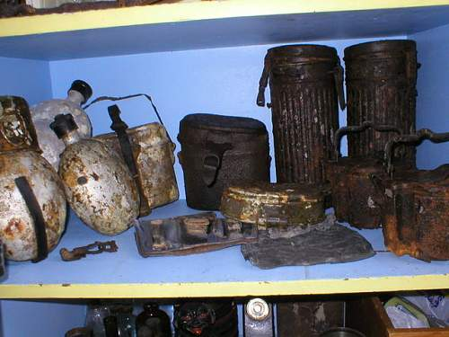 Ground dug finds in Northern France