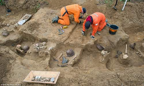 Battle of Seelow Heights - Remains of German Soldiers Recovered 69 Years On.