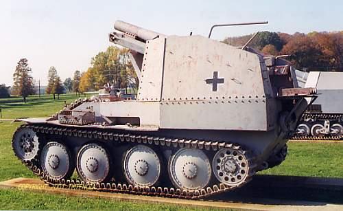 Ardennes Battle 15cm Grille Relic.