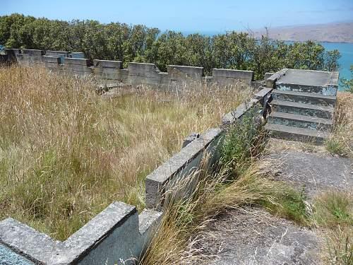 Godley Heads Defence. WW2. New Zealand