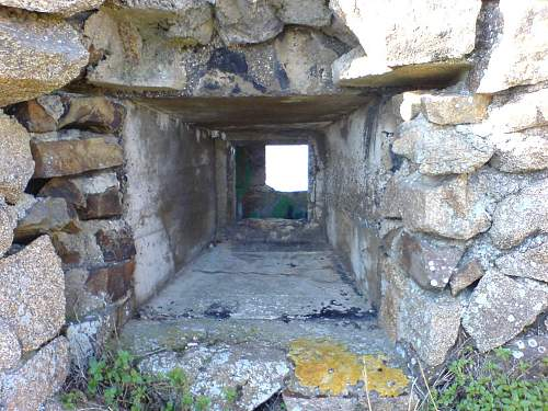 German bunker's in brittany