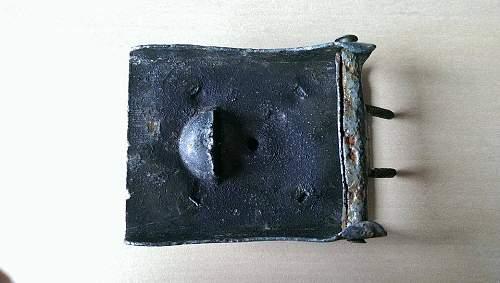 Geman Heer belt buckle relic