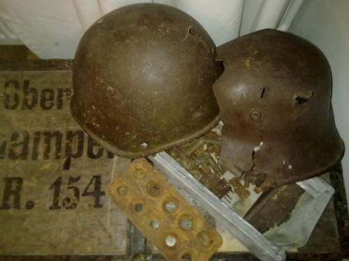My battlefield finds from the Hanko front in Finland