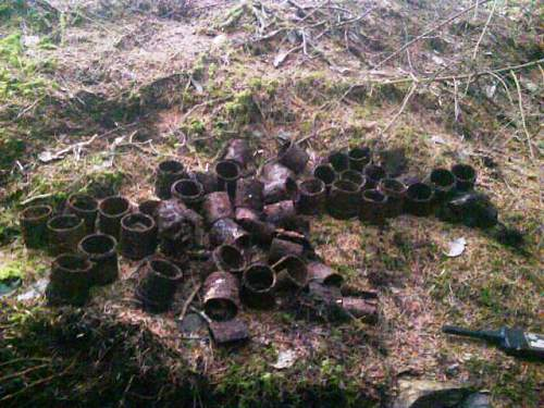 Dumping places discovered