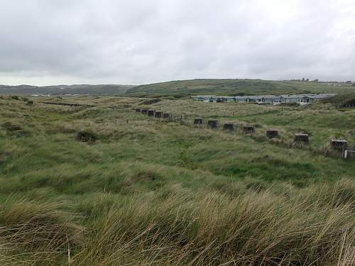 North Wales Anti-Tank Beach Defences