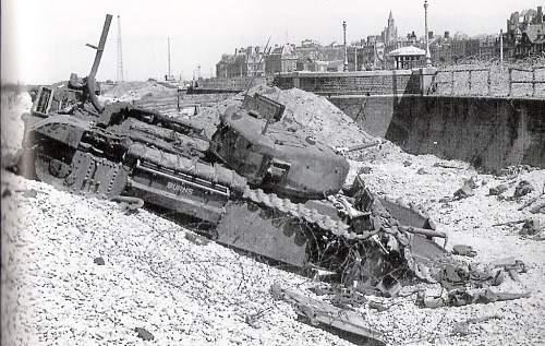Dieppe Raid Trip Relics
