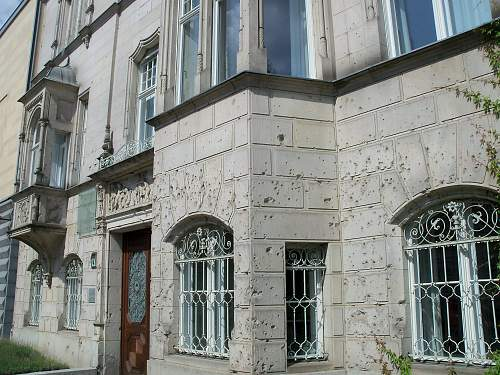 The Bullet In The Wall ( Stavelot )