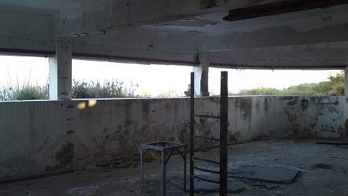 Abandoned 43rd Coastal battery regiment base