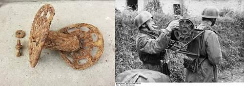 WW2 digging in Transylvania, Romania.