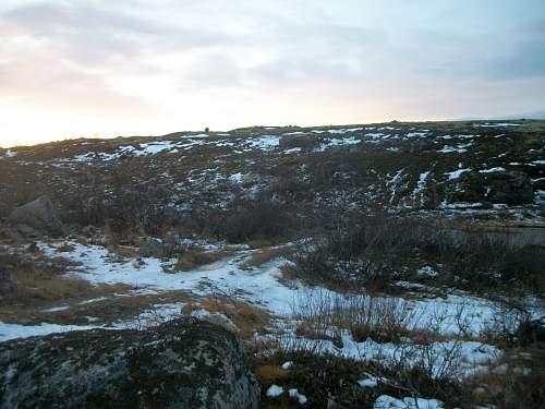 Traces of war in the Kola Peninsula.