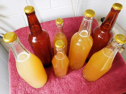 Click image for larger version.  Name:Bottles refilled after 72 years Jan 10 16 (1).jpg Views:0 Size:147.1 KB ID:923624
