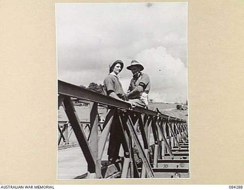 Click image for larger version.  Name:MALANDA AREA, QUEENSLAND. 1944 12 16. CORPORAL E J NEWTON, 7 DIVISION PROVOST COMPANY, (2), ON D.JPG Views:3 Size:166.8 KB ID:927555