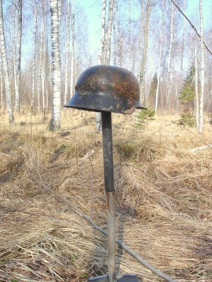 Battlefield archaeology in Latvia (Kurland kettle)...season 2010