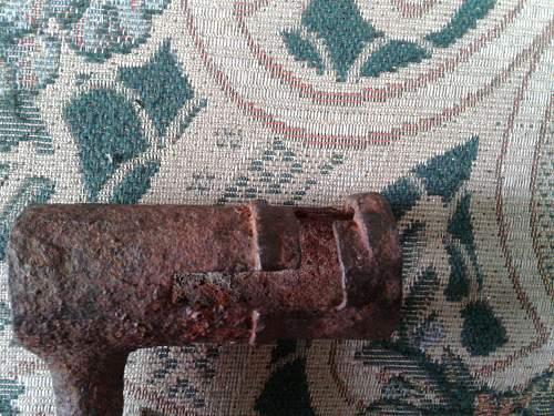 KNIL Socket Bayonet
