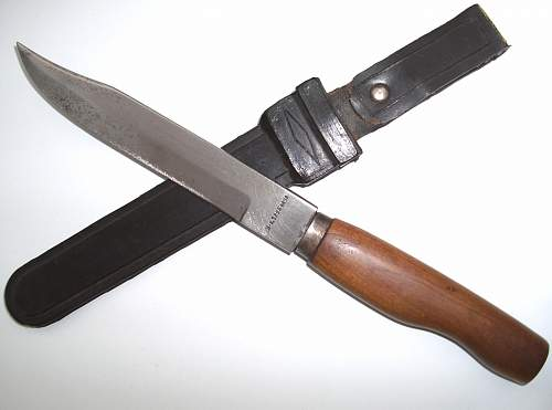 unknown soviet combat knife ! ...