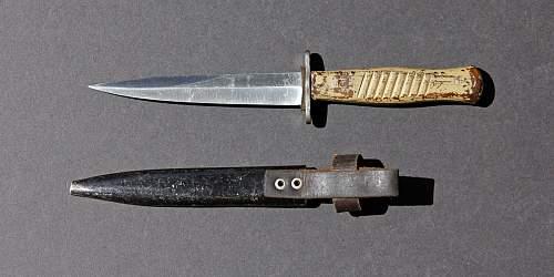 ERN WW1 trench knife