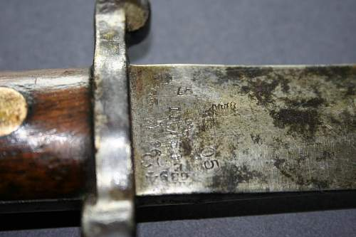 German World War I bayonet