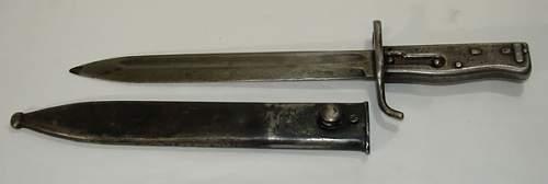 Please help ID this Bayonet