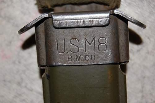 My US M3 fighting knife