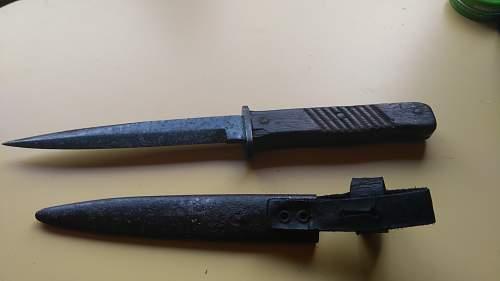 WW1 Imperial German Army Trench Knife