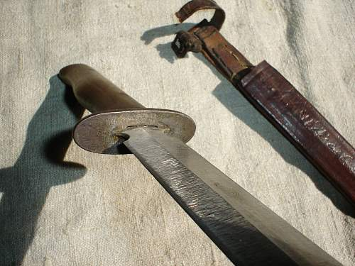 unknown fighting-knife