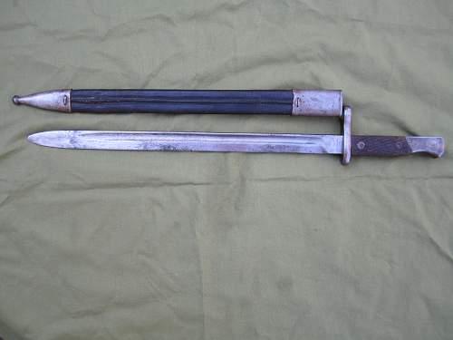 Spanish Mauser Pattern 1913 Long Bayonet
