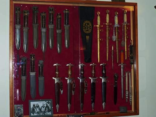 Any ideas to display bayonets?