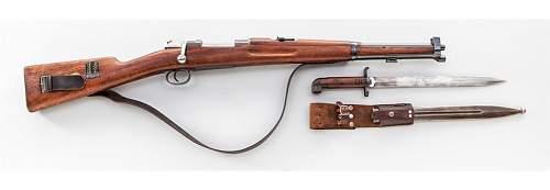 Identity of a bayonet