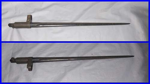 WW2 Russian Folding Bayonet?