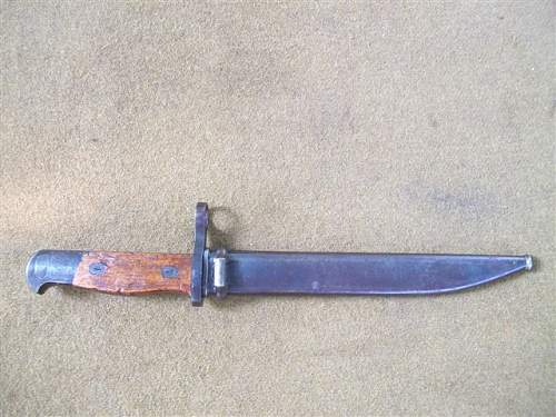 Japanese Test Type 1 Bayonet