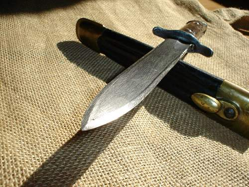 Italian 1916-pattern fighting-knife
