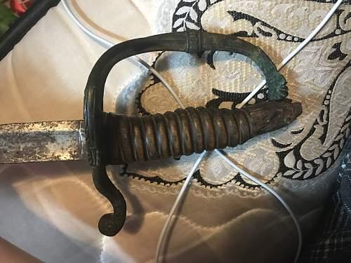 Unknown sword.