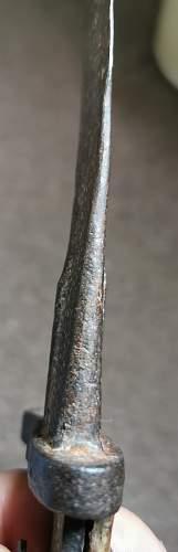 Austrian/ Bulgarian Bayonet?